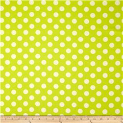 Riley Blake Home Décor Dots Lime