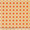 Riley Blake Flower Patch Lattice Orange