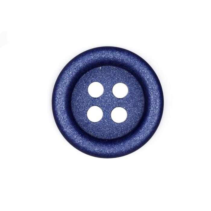 Fashion Button 1 3/8'' Alexis Royal Blue