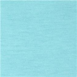 Stretch Rayon Poly Jersey Knit Sky Blue
