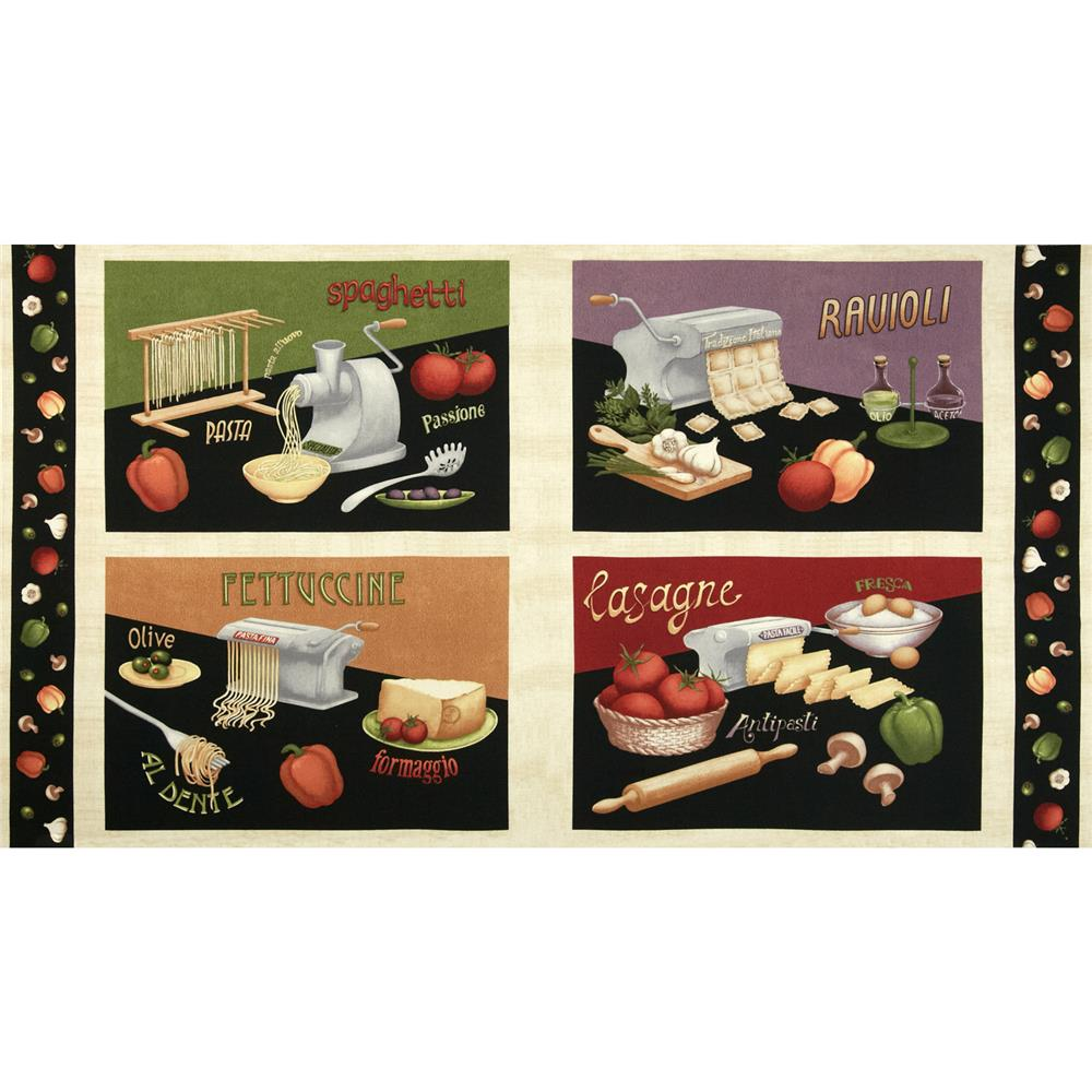 Al Dente Placemat Panel Multi