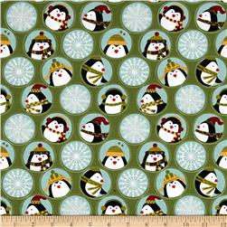 Jolly Penguin & Friends Penguin Friends & Flakes Green/Multi