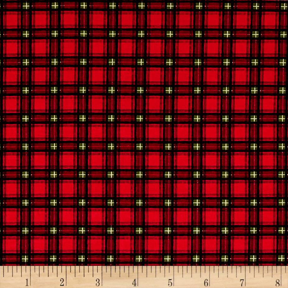 Winter's Friends Plaid Red