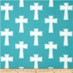 Premier Prints Indoor/Outdoor Cross Ocean