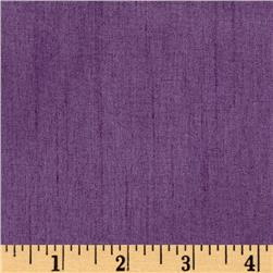 Faux Dupioni Purple