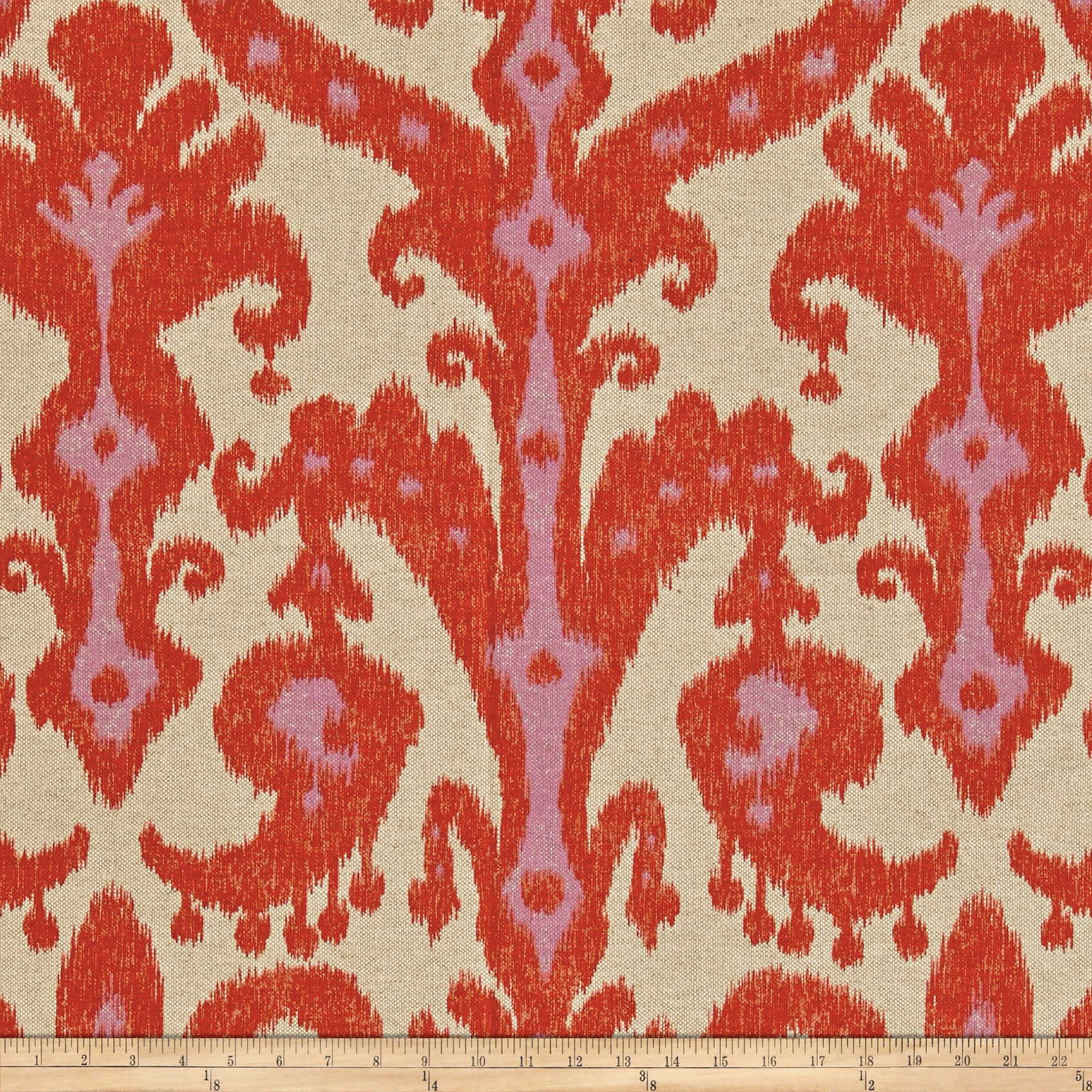 Lacefield Marrakesh Basketweave Firefly Fabric by Lacefield in USA