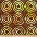 Timeless Treasures Tonga Batik Punch Bullseye Oasis