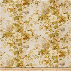 Fabricut Lolo Floral Basketweave Gold