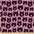 Cotton + Steel Cozy Teddy And The Bears Lilac