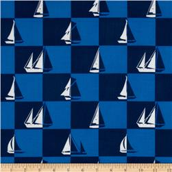 Sailboats Blue
