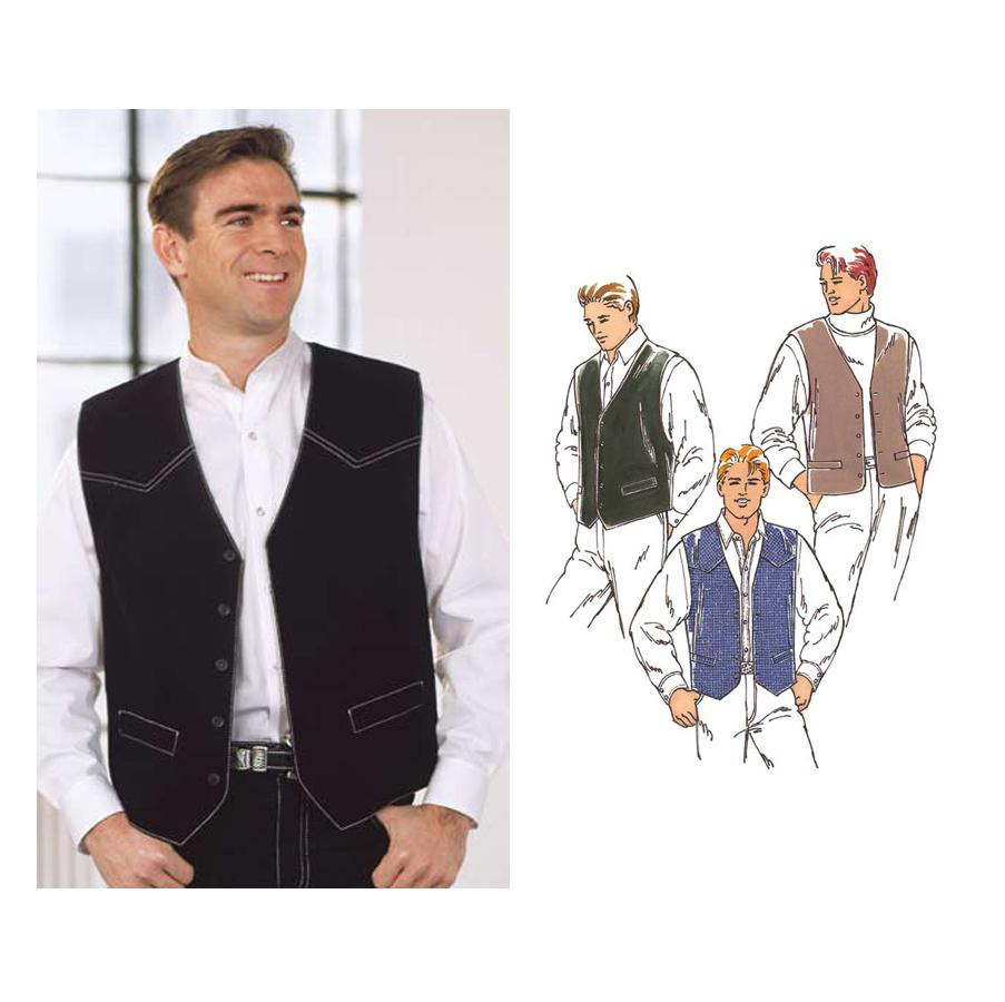 Kwik Sew Men's Vest Pattern