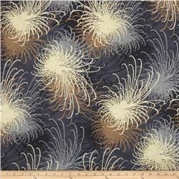Oriental Traditions Metallic Flower Burst Antique