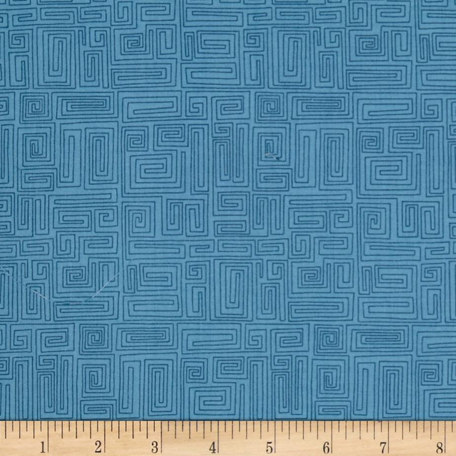 The Color Collection Maze Teal