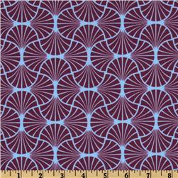 Joel Dewberry Heirloom Empire Weave Amethyst