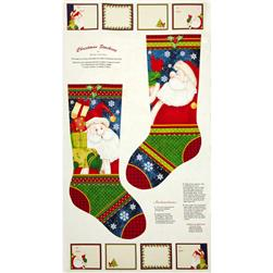 Believe Stocking Panel Multi