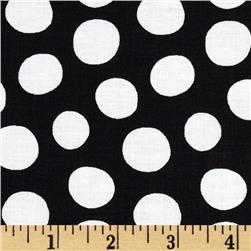 Fowl Play Dots Black