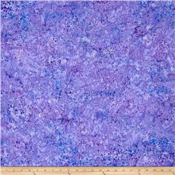 Timeless Treasures Tonga Batik Jamboree Ticker Tape Lupine