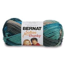 Bernat Softee Chunky Yarn (29632) Deep Waters