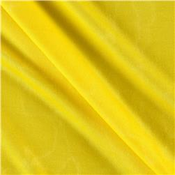 Poly Spandex Stretch ITY Knit Solid Bright Yellow