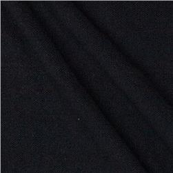 Nylon Mesh Knit Solid Black