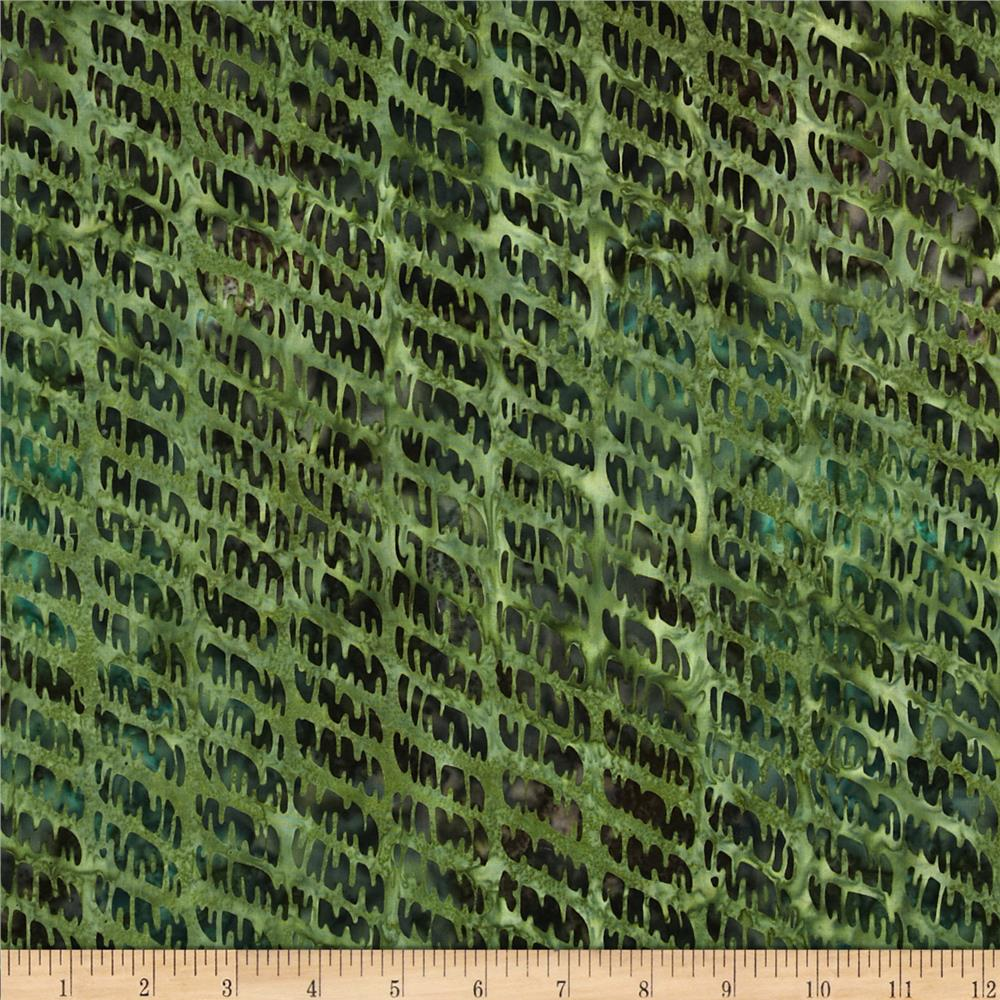Artisan Batiks Texture Study 2 Diagonal Jungle