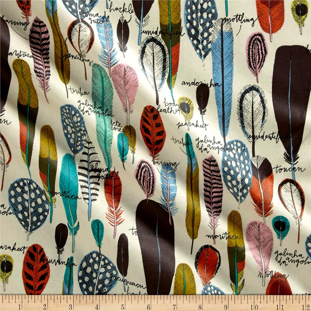 Cloud 9 Organic Matte Laminate Birds Of A Feather Multi