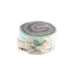 Moda Simply Style 2 1/2'' Jelly Roll