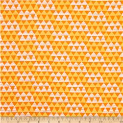 Happy Camper Flannel Tribal Orange
