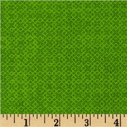 "108"" Essentials Criss Cross Quilt Backing Lime"