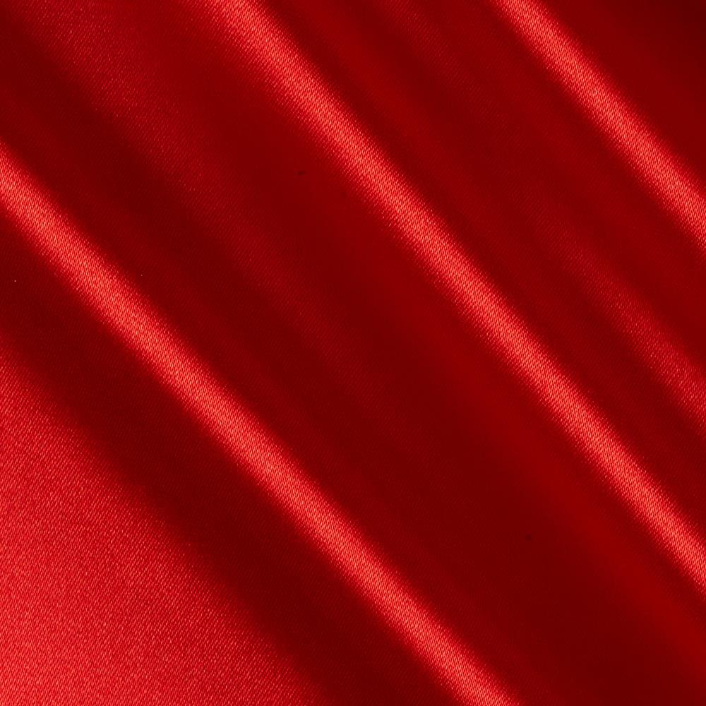 Barcelona spandex stretch satin red discount designer for Satin fabric