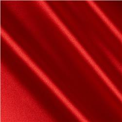 Barcelona Spandex Stretch Satin Red Fabric