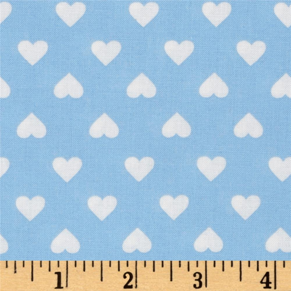 Kaurman Sevenberry Classiques Med Hearts Blue