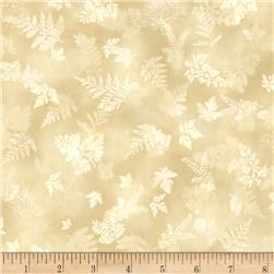 Robert Kaufman Tuscan Wildflower Leaf Linen