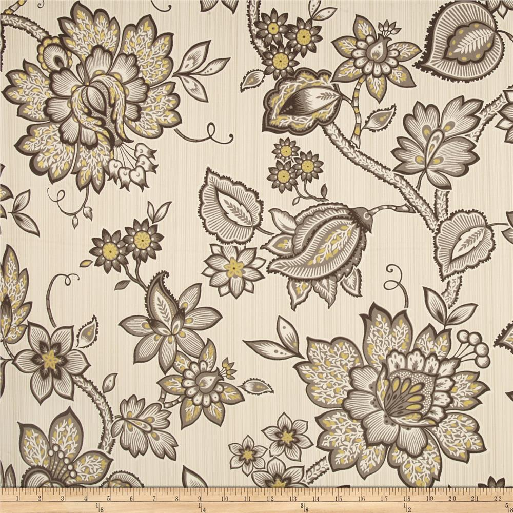 Waverly Floral Flair Twill Mineral Discount Designer