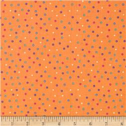 Baby Talk Mini Dots Orange/Multi