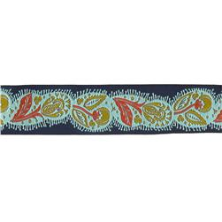 1 1/2'' Anna Maria Horner Flourish Ribbon Orange