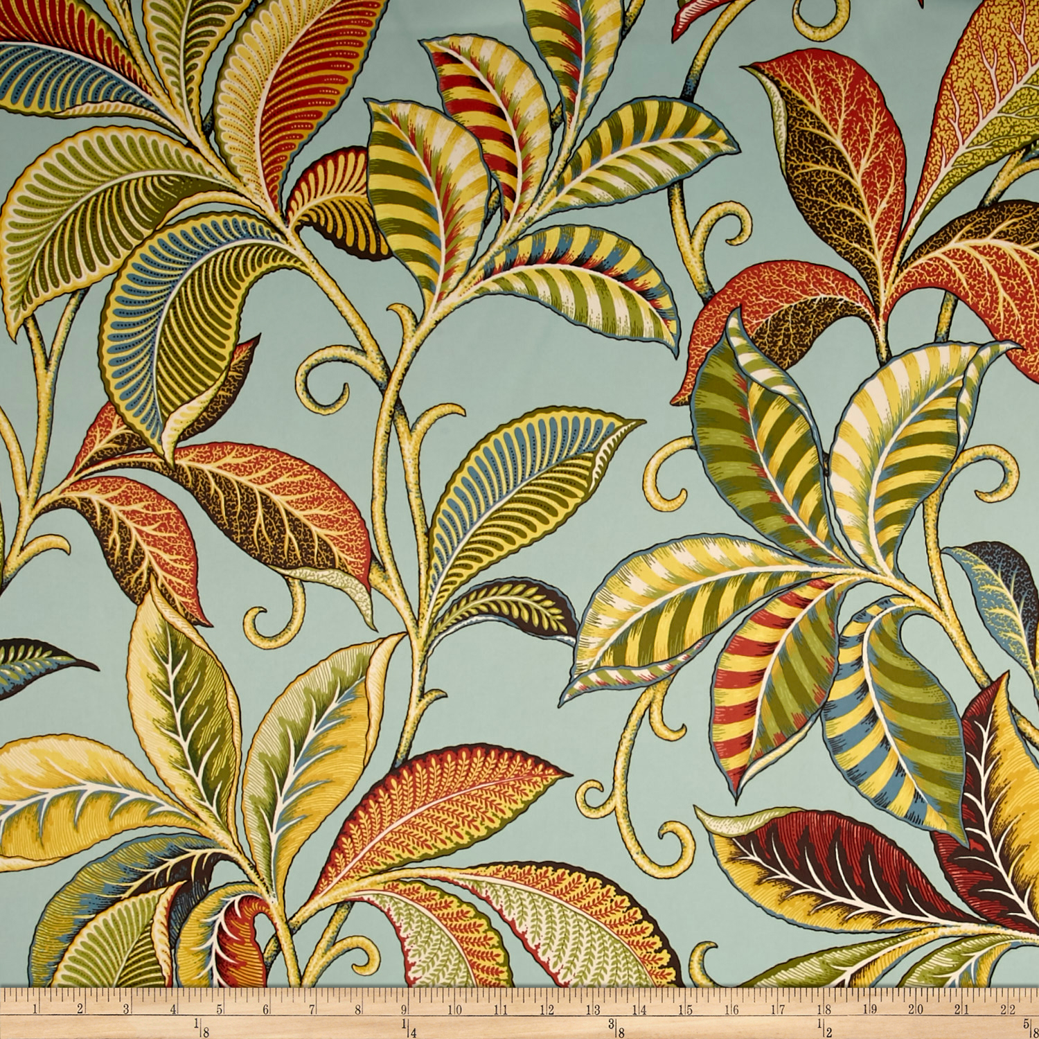 Richloom Enchantment Sateen Sky Fabric by TNT in USA