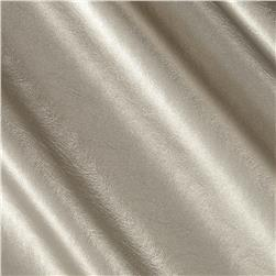 Patina Faux Leather Knit Silver Fabric