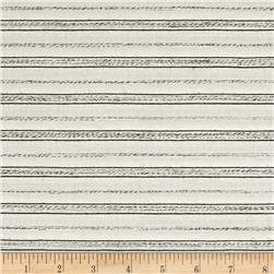 Coconut Grove Stripe Shirting Ivory/Natural