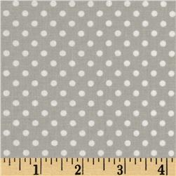Moda Dottie Small Dots Grey