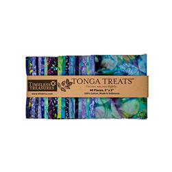 "Timeless Treasures Tonga Batik Jamboree 5"" Squares"