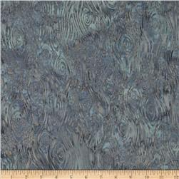 Bali Batiks Wood Grain Silver Fabric