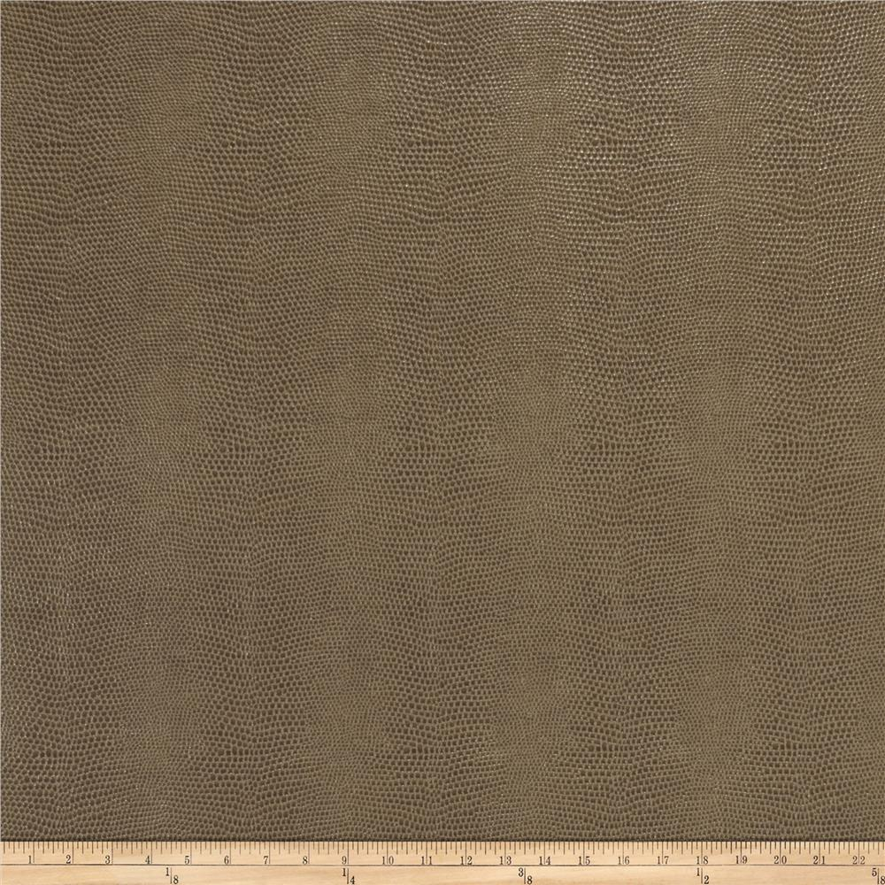 Fabricut Schreiber Faux Leather Taupe