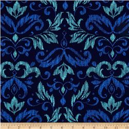 Michael Miller on the Town Blooming Damask Blue