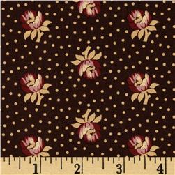 Judie's 25th Anniversary Medium Flowers Brown