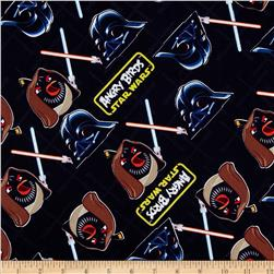 Star Wars Angry Birds Duel Black Fabric