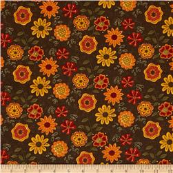 Moda Beauty-Fall Flowers Bark