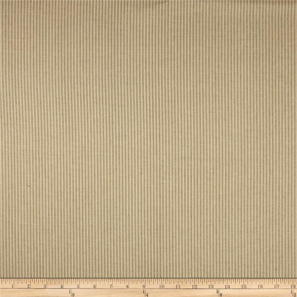 Home Accents Kent Ticking Stripe Cashew