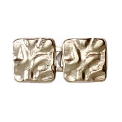 Buckle Crinkled Clasp 1'' Nickel