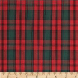 Tartan Plaid Red/Green